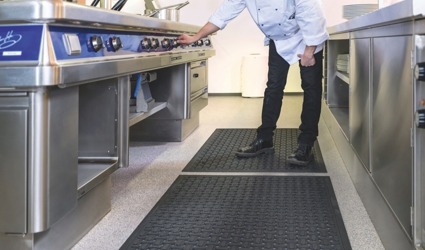 Kleen-Thru Plus - KTP mat at the work place