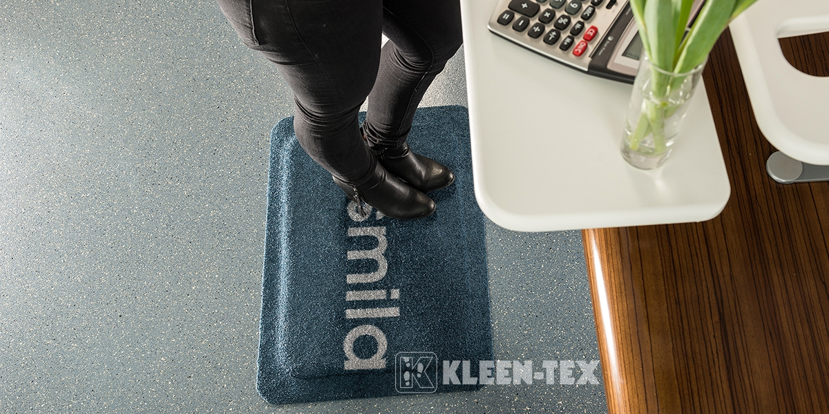 Kleen-Comfort Design next to desk