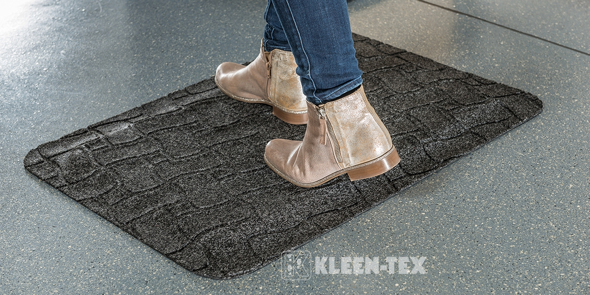 Kleen-Comfort Office mat for counters